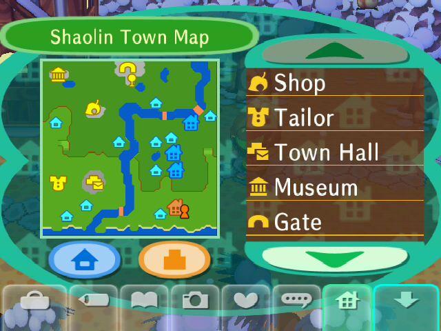 Shaolin Town Map