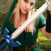 Link and the Master Sword!